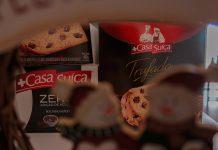 Panettones Casa Suíça Trufado, Gotas zero e Frutas cristalizadas