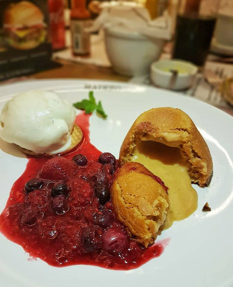 Petit Gâteau de Doce de Leite Madero