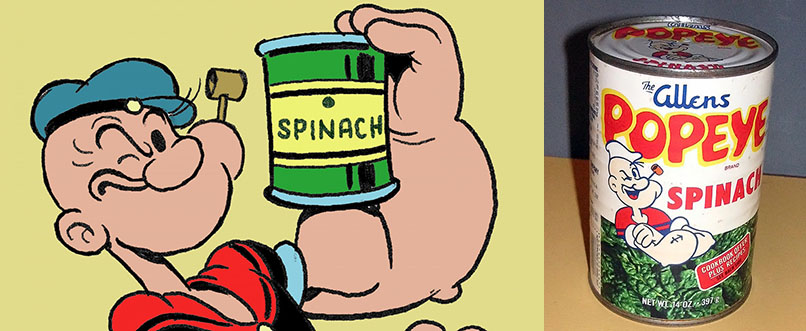 Espinafre Popeye