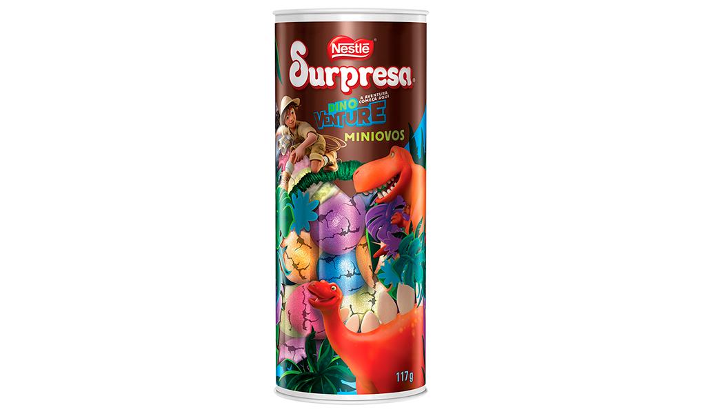 Tubo Miniovos Surpresa Nestlé