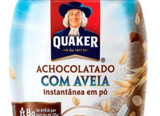 Achocolatado com Aveia Quaker