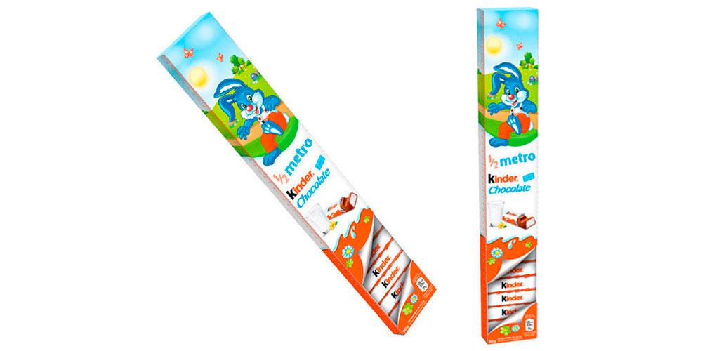 Barra Kinder ½ Metro - 300g Ferrero