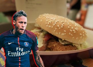 Big Tasty Chicken Bacon Neymar