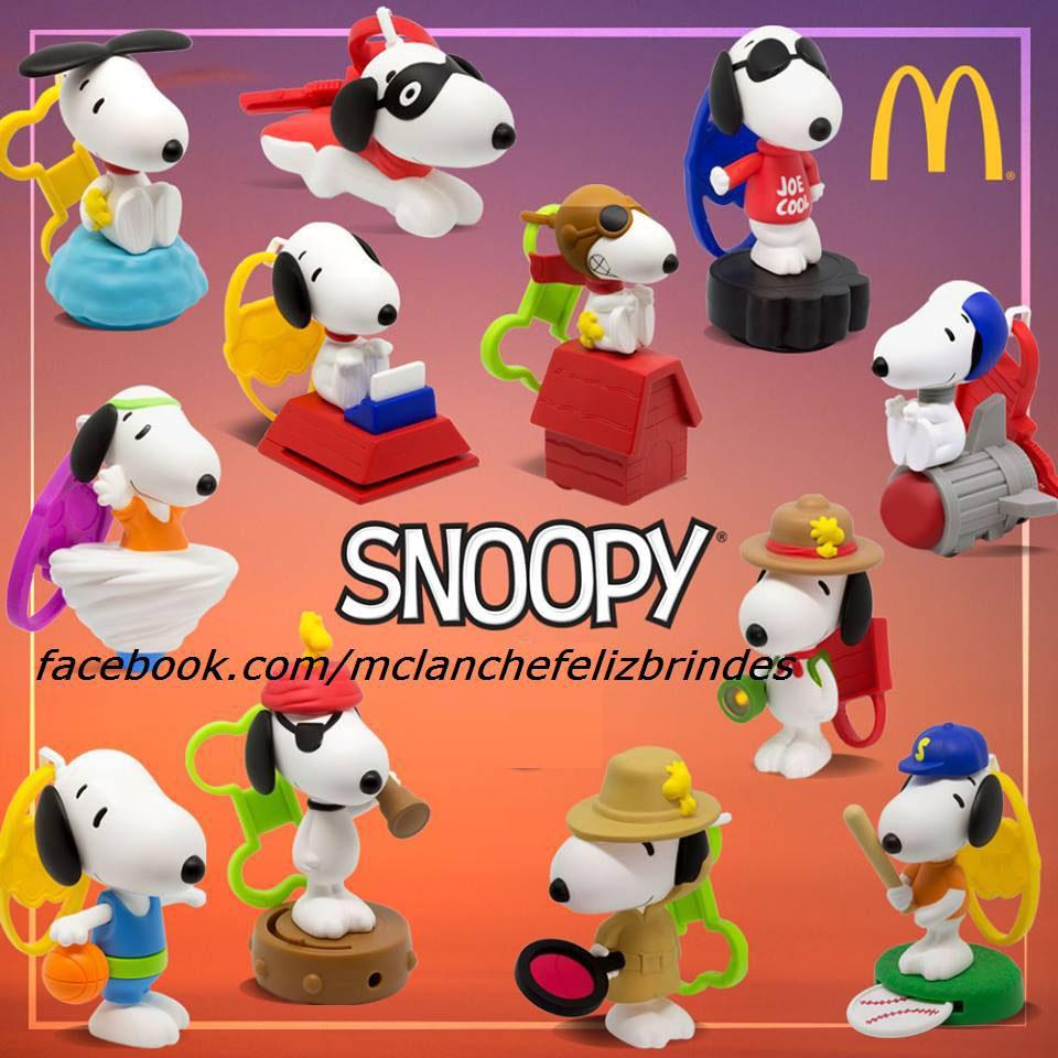 Coleção Snoopy McLanche Feliz Fevereiro 2018