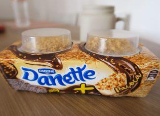 Danette com Paçoca Danone
