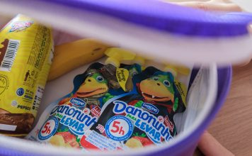 Danoninho Para Levar Morango com Banana Danone