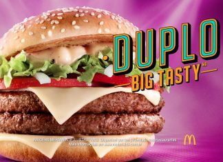 Duplo Big Tasty McDonald's