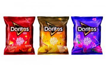 Embalagens Doritos Lollapalooza