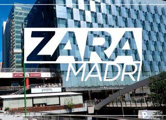 Maior Loja Zara do Mundo - Madri Espanha