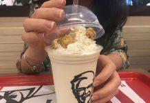 Milk Shake Pipoca KFC
