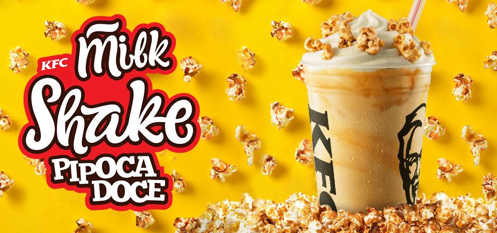 Milk Shake Pipoca Doce KFC