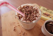 Milk Shake com Talento Torta de Maracujá