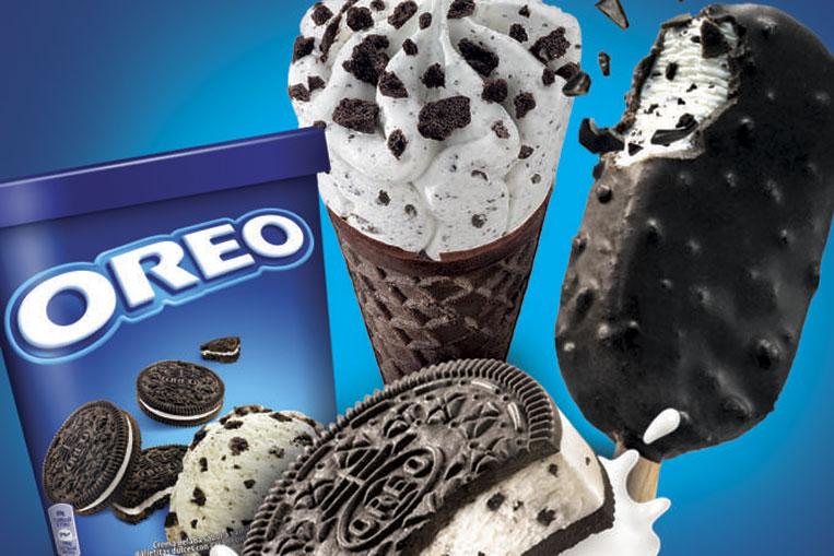 Linha de sorvetes sabor Oreo chega ao Brasil em março