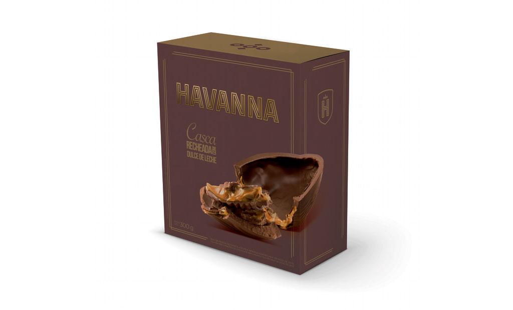Ovo Chocolate Meio Amargo Havanna - 300g