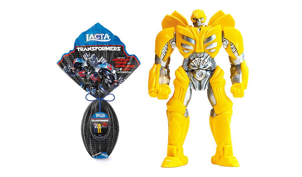 Ovo de Páscoa Transformers - 170g