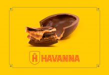 Ovos de Páscoa Havanna 2018