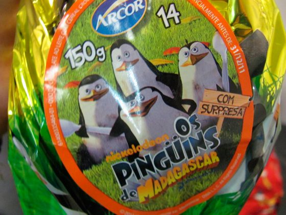Pinguins de Madagascar - Arcor Brinde Expectativa