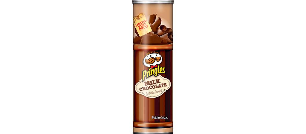 Pringles Chocolate ao Leite