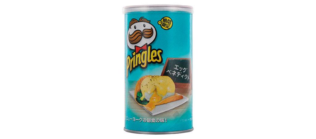 Pringles Ovos Benedict