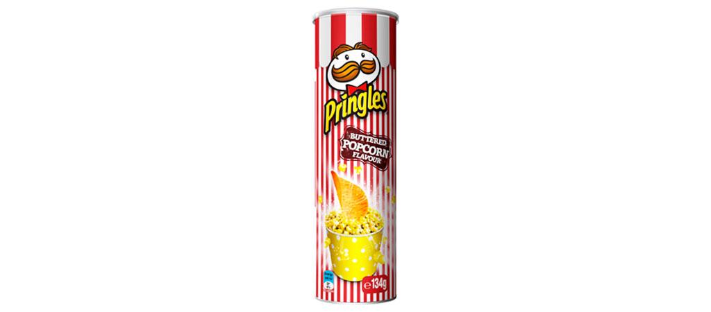 Pringles Pipoca Amanteigada