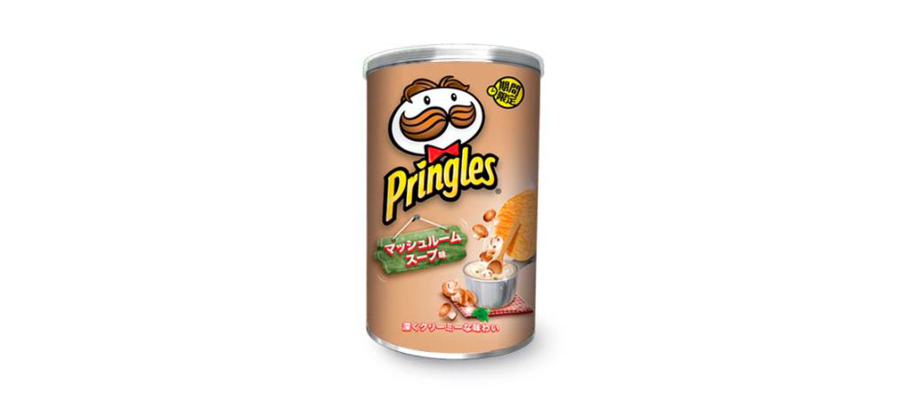 Pringles Sopa de Cogumelo