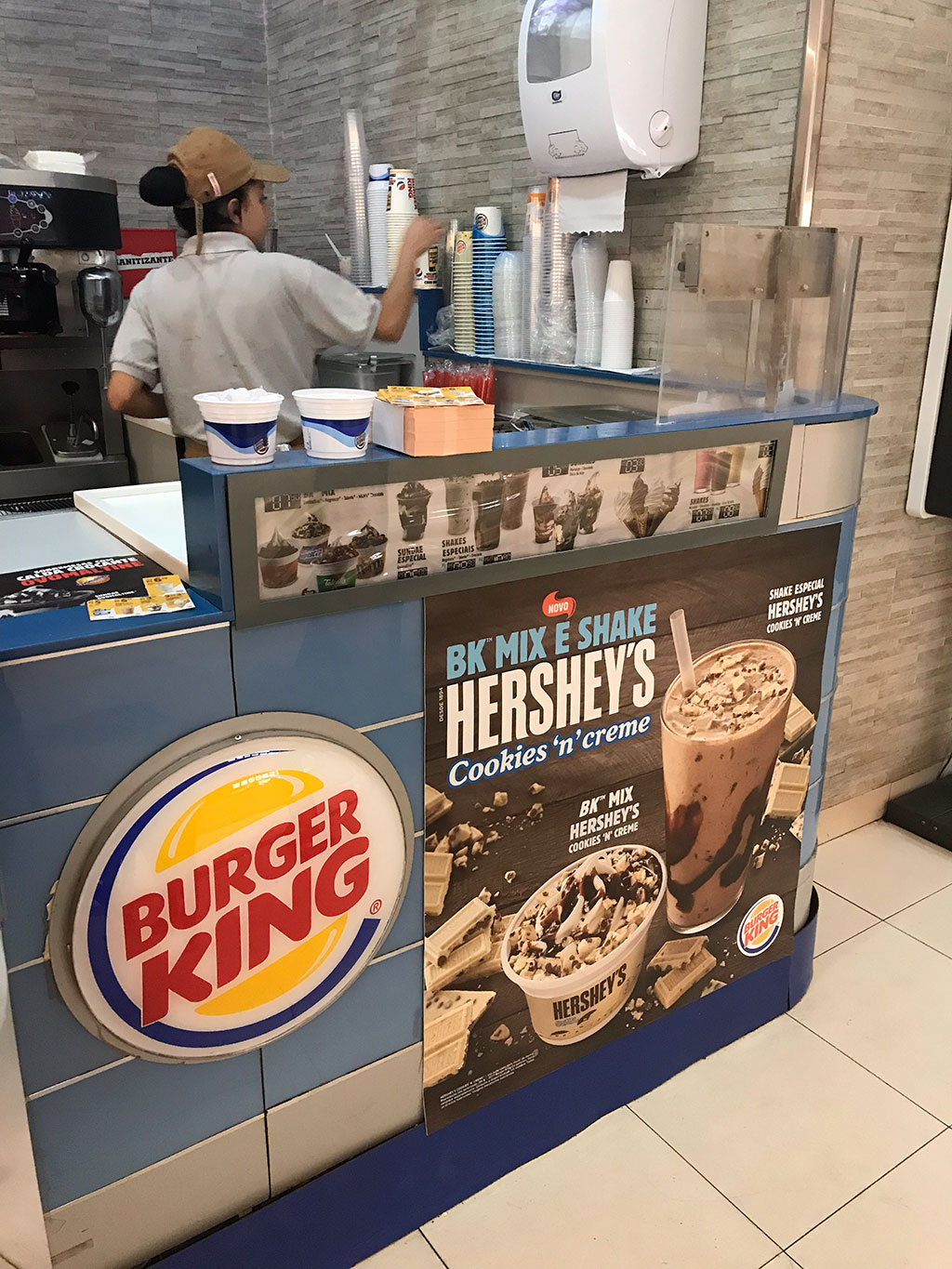 Quiosque Burger King Shopping Eldorado