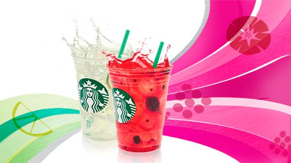 Refreshers Frutas Vermelhas ou Limão - Starbucks