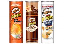 Sabores de Pringles pelo Mundo