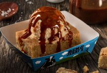 Salted Caramel Blondie Ben & Jerry's