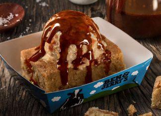 Salted Caramel Blondie Ben & Jerry's