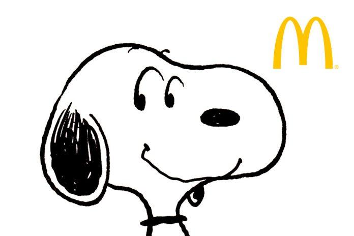 Snoopy McDonald's
