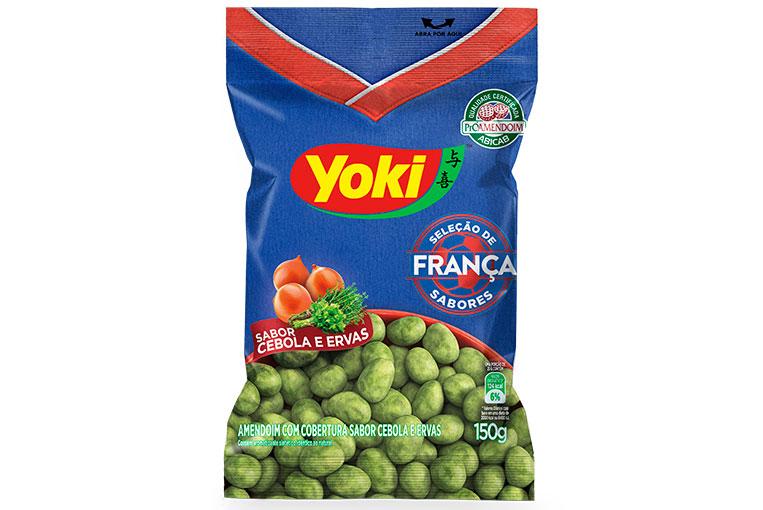 Amendoim Cebola e Ervas França Yoki