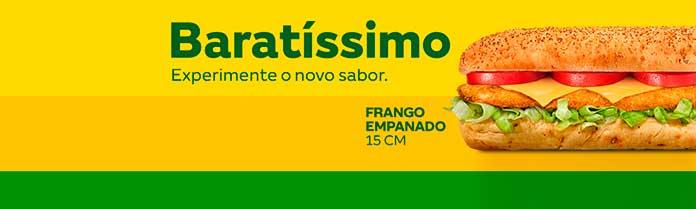 Baratissimo Subway Frango Empanado
