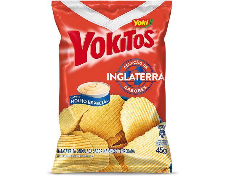 Batata Frita Molho Especial Inglaterra Yoki