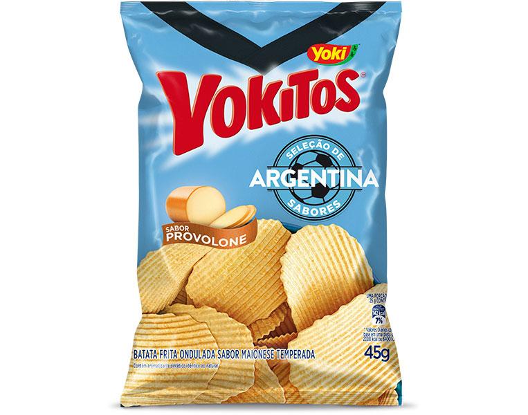 Batata Frita Provolone Argentina Yoki