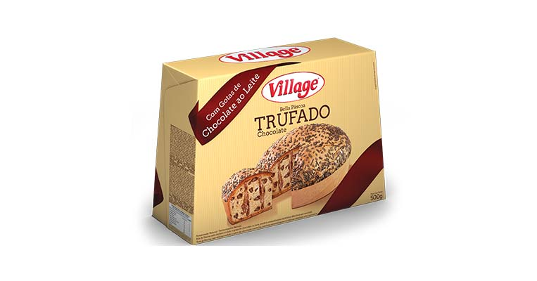 Bella Páscoa Trufado Chocolate - 500g Village