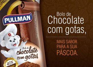 Bolo Pullman Gotas de Chocolate 40%
