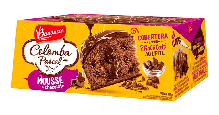 Colomba Pascal Mousse - 800g Bauducco