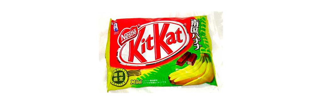 Kit Kat Banana Japão