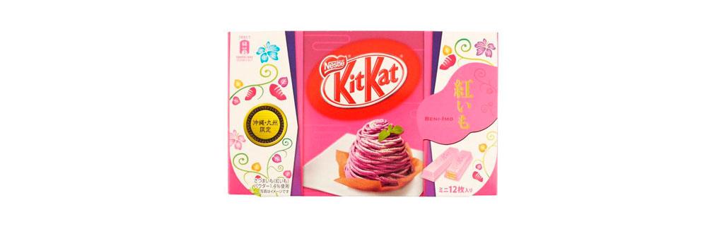 Kit Kat Batata Doce Roxa Japão