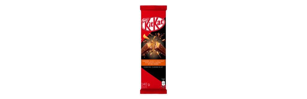 Kit Kat Caramelo e Sal Marinho Canadá
