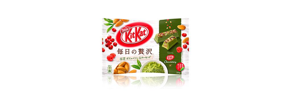 Kit Kat Chá Verde, Cranberry e Amêndoas Japão