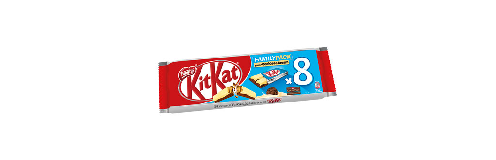 Kit Kat Cookies & Cream Duo Itália