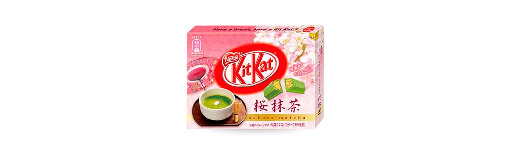 Kit Kat Flor de Cerejeira Japão