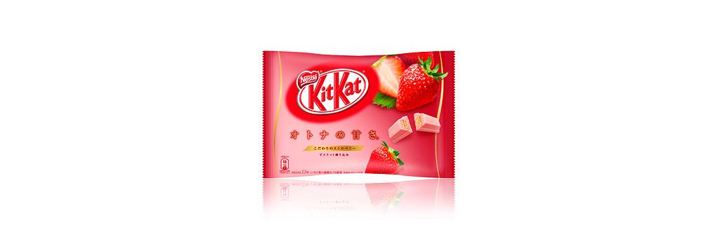 Kit Kat Morango Japão