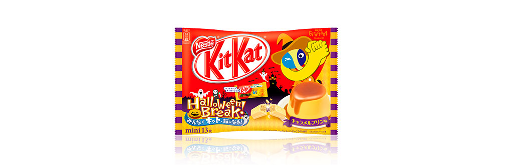 Kit Kat Pudim de Caramelo Japão