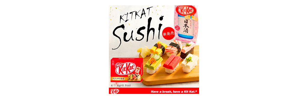 Kit Kat Sushi Japão
