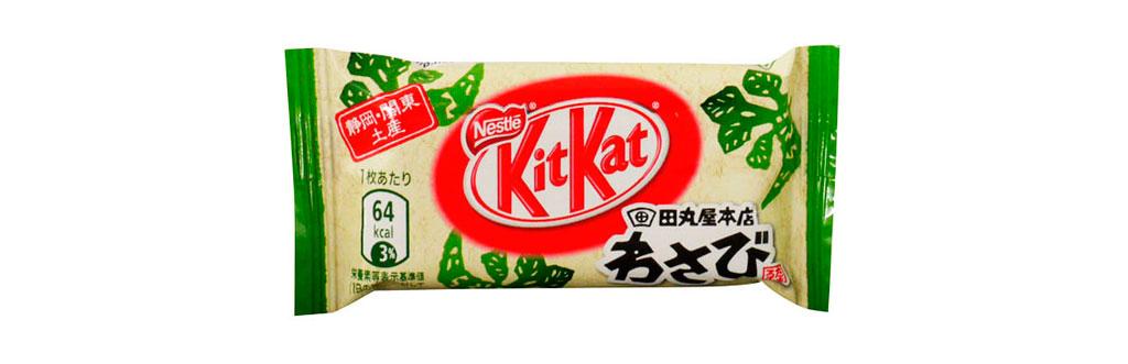 Kit Kat Wasabi Japão