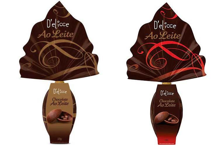 Ovo Chocolate ao Leite - 230g e 370g D'elicce
