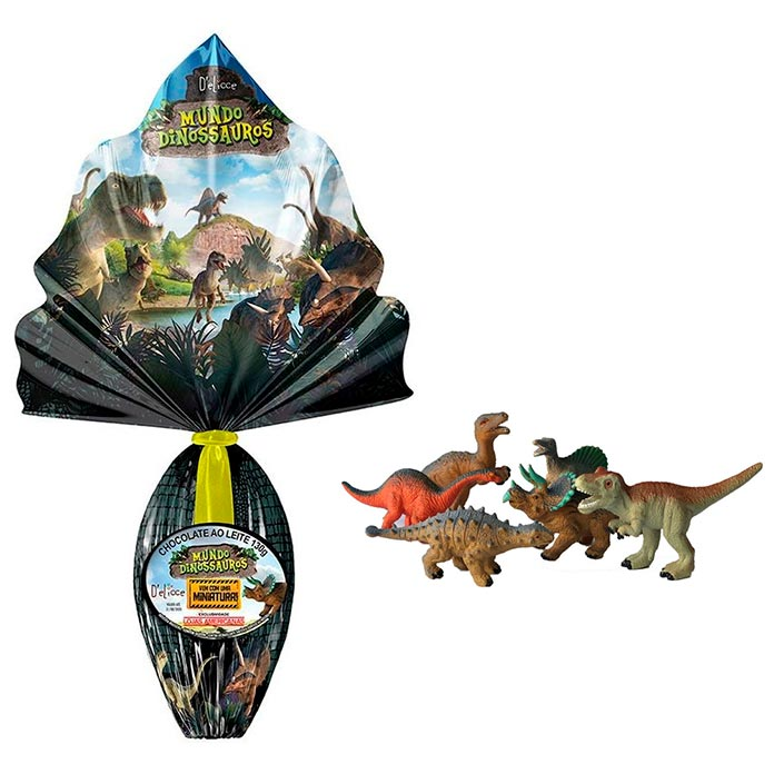 Ovo Mundo Dinossauro (130g)